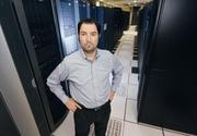 Jon Rosenson, vice president of quality assurance and strategic initiatives for Expedient Communications, stands in the company's Green Tree data center. Experts talked about the denial-of-service attacks against PNC Financial Services Group Inc. (NYSE: PNC) and other big banks.