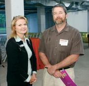 GeorgeAnne and Daniel Muchnok of Opticom Consulting attended the Corridors of Opportunity event at Bakery Square.