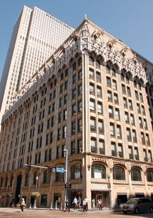 The Union Trust building on Grant Street has more than 200,000 square feet available.