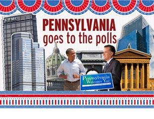 The 2012 presidential campaign comes down to Tuesday's voting, and Pennsylvania has suddenly become a swing state again.