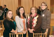 Bethel Bakery's (from left) Alyssa Volensky, Julianna Lytle, Cindy Schnatterly and Susan Phillips attended the event.