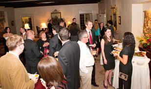 TrueFit threw a fancy holiday party for employees Nov. 19 at Lounge Vue Club. Last year, the technology company had a low-key potluck celebration.