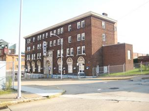 This former YMCA building in McKeesport is undergoing a $6.5 million makeover using Passive House design. It will house people at risk for homelessness.