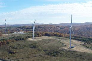 EverPower Wind Holdings Inc. operates three wind farms in southwestern Pennsylvania, including this one in Cambria County. Without tax credits, the company says it likely won't build new projects.