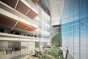 An inside look at the Tower at PNC Plaza through an artist's rendering. Construction is expected to pick up in 2013, with a projected finish in 2015.