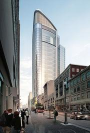 A rendering of the Tower at PNC Plaza.