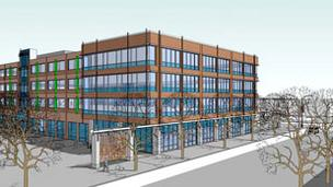 Oxford Development plans to open Hot Metal Corporate Center to tenants in 2013. The company has tentative commitments for the first-floor retail space and at least 30,000 square feet of office space.
