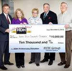 HDH Group's anniversary celebrated by giving back