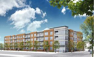 Construction on Lot 24, a 96-unit apartment complex designed as the second phase of the Strip District's popular Cork Factory, began this month. The partners expect to open in the fall.