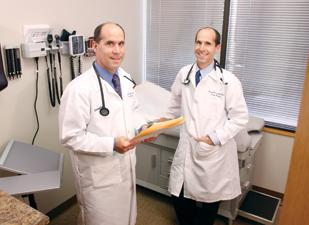 North Huntingdon Family Medicine physicians and twins, Drs. Keith and Kenneth Szekely.