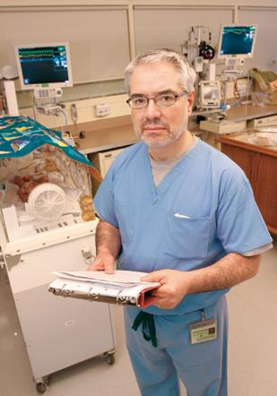 Neonatologist Dr. Giovanni Laneri advocates creating a unified approach to treating addicted mothers.