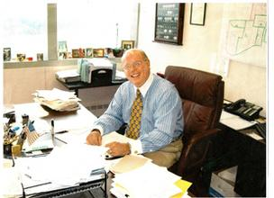 Frank Gustine Jr. works out of an office in Seven Parkway Center in Green Tree.