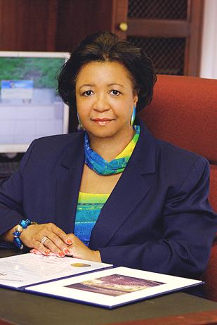 Ruth Byrd-Smith, director, department of minority, women and  disadvantaged business enterprises, Allegheny County