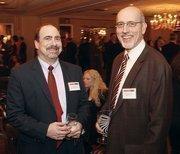 Steve Shivak, left, of SMC Business Councils and John Zahner of Zahner CPA.