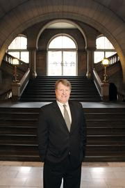 No. 8: Allegheny County, with 6,728 employees. That's down 1.3 percent from last year. Above, Allegheny County Executive Rich Fitzgerald.