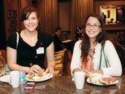 Sara DiBello, left, of the Butler County Tourism & Conventiion Bureau, and Kristin Nicklas of The Empyrean Group LLC.