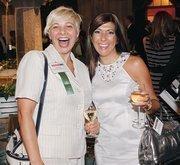 Ann Parys, left, of Rothman Gordon PC and Maria Brady of Marakae Marketing Inc.