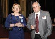 Lou Ann Bowser of Diamond Drugs Inc. and her husband, Richard.