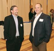 Jeff Dunn, left, and Ray Passieu of Freight Management Plus.