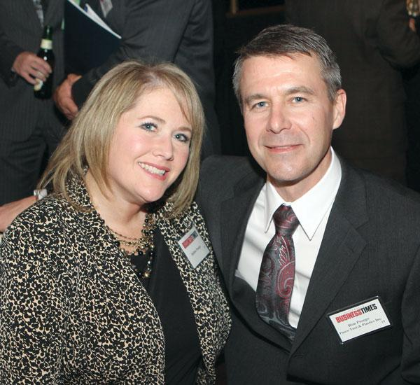 The Manufacturer of the Year Awards were held Thursday night at the Omni William Penn Hotel.Ron Posego of Pasco Tool & Plastics Inc. attended with his wife, Debbie.