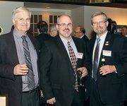 Fyda Freightliner Pittsburgh, Inc.'s Paul Naman, left, Bob Bodkin, center, and Tim Hooker.