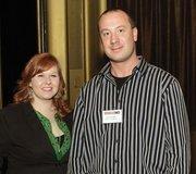 Jessica Hooper and David Danko of Quality Mould Inc.