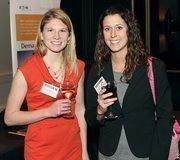 Amanda Howard, left and Susannah Geletko of Sisterson & Co. LLP.