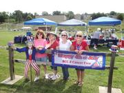 Benefit Coordinators Corp. employees volunteered their time and participated in the Relay For Life to raise funds for American Cancer Society programs. From left are Kelly Jones, Denise Spardy, Trish Virgin and Shelly Bugay. For the most recent event, Team BCC 4 Cancer raised nearly $6,500.