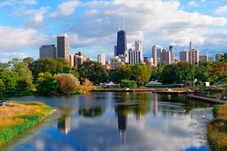 Chicago dropped two places in the Top 10 Cities rankings in the 2013 Condé Nast Traveler Readers' Choice Survey.