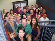 Cohera Medical Inc. employees get together for a group photo.