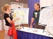 Kelly Carlson of Huntington Bank and Joe Sisley of Westmoreland County Industrial Development Corp.