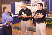 From left: Ray Pasquinelli of Pittsburgh Air Systems - Air Industrial, Matthew Oeler of Oeler Industries Inc. and Ken Lucci of Oeler Industries Inc.