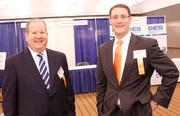 Don Lemasters of Intertech Security LLC, left, and Geoff Kasse of JKS Financial.