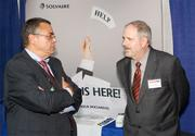 Kurt Weber of Babst, Calland, Clements and Zomnir PC, left, and Tom Byers of Solvaire Technologies Inc.