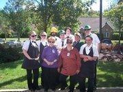 Friendship Village of South Hills employees got together recently for an Oktoberfest celebration.