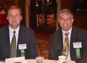 Ed O'Donnell of UMPC Health Plan, left, and Scott Ruxton of UPMC Health Plan.