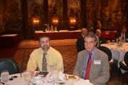 Jason Miller of Net Health Systems Inc., left, and Kris B. Mamula of the Pittsburgh Business Times.