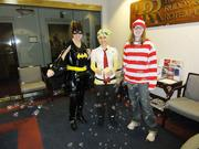 Horovitz Rudoy & Roteman LLC are all dressed up for a Saturday Fun Day during the company's busy season.