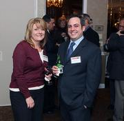 Sharon O'Brien, left, and Ryan Gray of The Empyrean Group LLC.