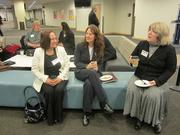 From left: Becky Duxbury, Jenn Dutkiewicz and Kim Abel, all of Carnegie Mellon University.
