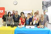 """Rosedale Technical Institute staff were served """"walking tacos"""" at a recent Cinco de Mayo Celebration."""