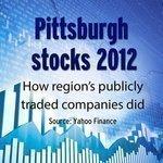 Top Pittsburgh stocks of 2012