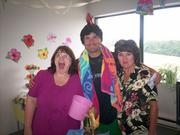 Bethany Hospice LLC employees took part in a staff carnival in July.