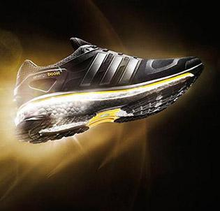 Adidas believes its Boost technology will propel it ahead of Nike in the U.S. running shoe market.