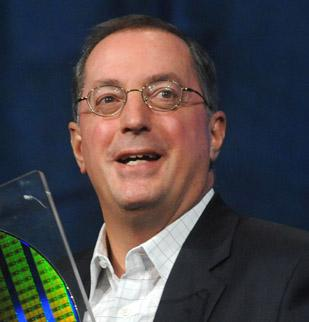 Intel CEO Paul Otellini offered contrasting views of the job creation possibilities of the state of California and the United States in a public appearance in Southern California on Wednesday.