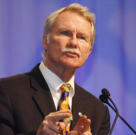 Gov. John Kitzhaber reviewed his call for a 10-year energy plan Wednesday.