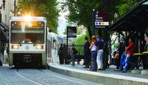 MAX light rail trips increased 2 percent to 42.2 million.