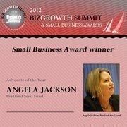 Angela Jackson, Portland Seed Fund (Advocate of the Year)