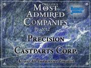 Fast fact:Precision Castparts Corp.'s acquisitions in 2012 added roughly 5,030 employees to PCC's payroll.