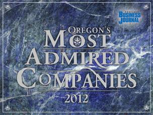 Oregon's Most Admired Companies: Category winners.